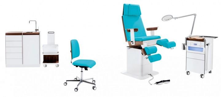 Zdrowotne krzesło PODOLOG® STOOL bioswing